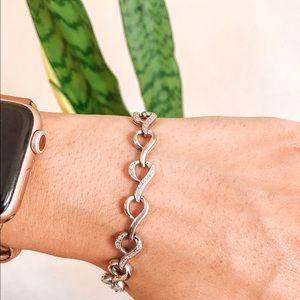 Gently loved 1/4 Ct Diamond 💎 Tennis Bracelet